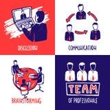 Teamwork Design Concept Stock Photography