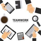 Teamwork design Royalty Free Stock Image