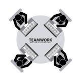 Teamwork design Stock Image