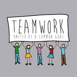 Teamwork design Royalty Free Stock Photography