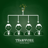 Teamwork Royalty Free Stock Photography