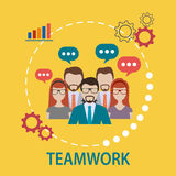 Teamwork Discussion concept Stock Photo