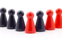Teamwork and diversity Royalty Free Stock Image
