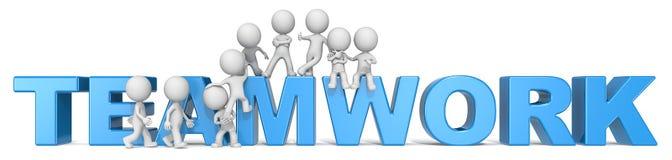 Teamwork. Royalty Free Stock Image