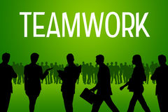 Teamwork Royalty Free Stock Photos
