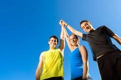 Teamwork-Erfolg Lizenzfreie Stockfotografie