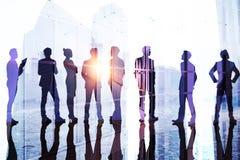 Teamwork, Erfolg und Teamkonzept lizenzfreie abbildung