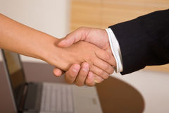 teamwork för affärskommunikation arkivbild