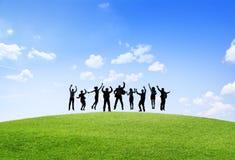 Teamwork för partnerskap för ockupation för affärssamarbetskollega fotografering för bildbyråer