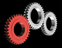 Teamwork gears Royalty Free Stock Images