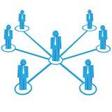 Teamwork-Geschäftskonzepte Stockfotografie