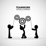 Teamwork Graphic Design Royalty Free Stock Photos