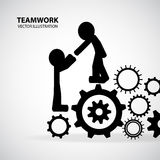 Teamwork Graphic Design vector illustration