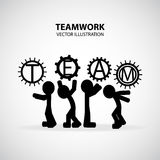 Teamwork Graphic Design Royalty Free Stock Images