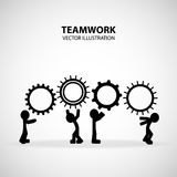 Teamwork Graphic Design Royalty Free Stock Photo