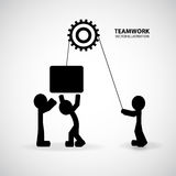 Teamwork Graphic Design Royalty Free Stock Photography