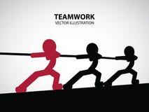 Teamwork Graphic Design Royalty Free Stock Photo