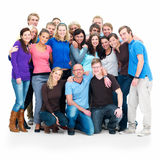 Teamwork - group portrait Royalty Free Stock Photography