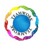 Teamwork-Hände vektor abbildung