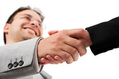 Teamwork handshake Royalty Free Stock Images