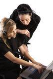 Teamwork-Helfen stockbilder