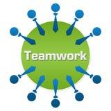Teamwork Human Circular Stock Photos