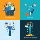 Teamwork and human resources Royalty Free Stock Image