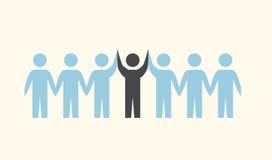 Teamwork icon. Design,  illustration eps10 graphic Stock Photography