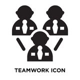 Teamwork icon vector isolated on white background, logo concept vector illustration