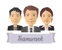 Teamwork icon Stock Photography