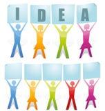 Teamwork Idea Stock Photography