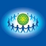 Teamwork idea stock illustration