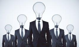 Teamwork and idea concept stock image