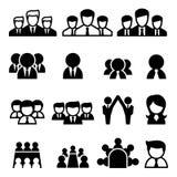 Teamwork-Ikone Lizenzfreie Stockfotografie