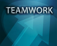 Teamwork illustration Royalty Free Stock Images