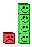 Teamwork illustration. Creative design of teamwork illustration Stock Image