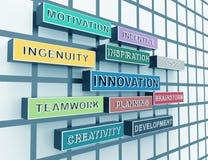 Teamwork. Innovation,creativity,planning,brainstorm Royalty Free Stock Images