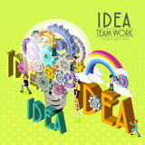 Teamwork inspiration Stock Image