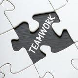 Teamwork Jigsaw Puzzle Stock Photos