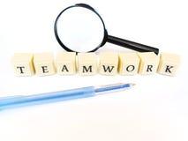 Teamwork-Konzept stockbild