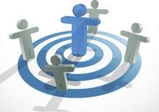 Teamwork-Konzept   Lizenzfreies Stockfoto