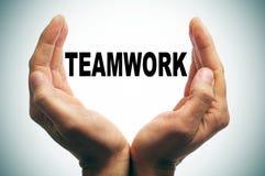 Teamwork-Konzept Stockfotos