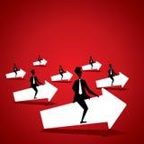 Teamwork-Konzept Lizenzfreies Stockbild