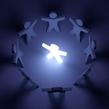 Teamwork & Leadership Royalty Free Stock Image