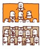 Teamwork & leadership Stock Photos