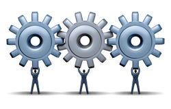 Teamwork-Leistung Stockbilder