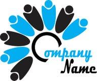 Teamwork logo Royalty Free Stock Image