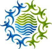 Teamwork-Logo Stockfoto