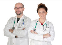Teamwork of medical Royalty Free Stock Photography