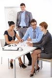 Teamwork in meetingroom Stock Photo
